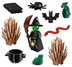 lego minifigures series witch plus halloween