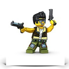Monster Fighters Frank Rock Minifigure