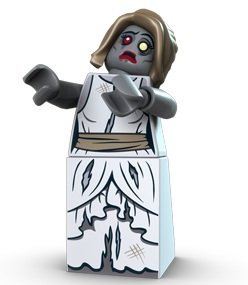 zombie bride lego zombie bride lego monster fighters minifigure image 1 - Lego Monstre
