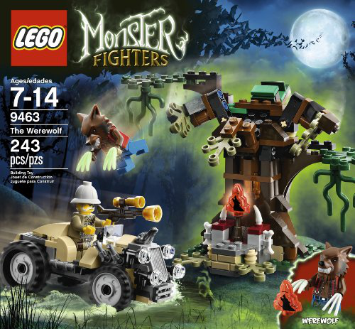 Monster Fighters 9463 The Werewolf