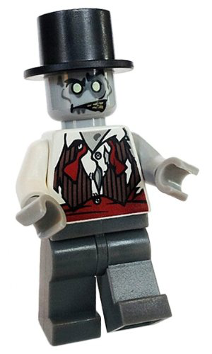 Lego Zombie Groom - Lego Monster Fighters Minifigure