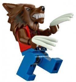 Monster Fighters Werewolf Minifigure